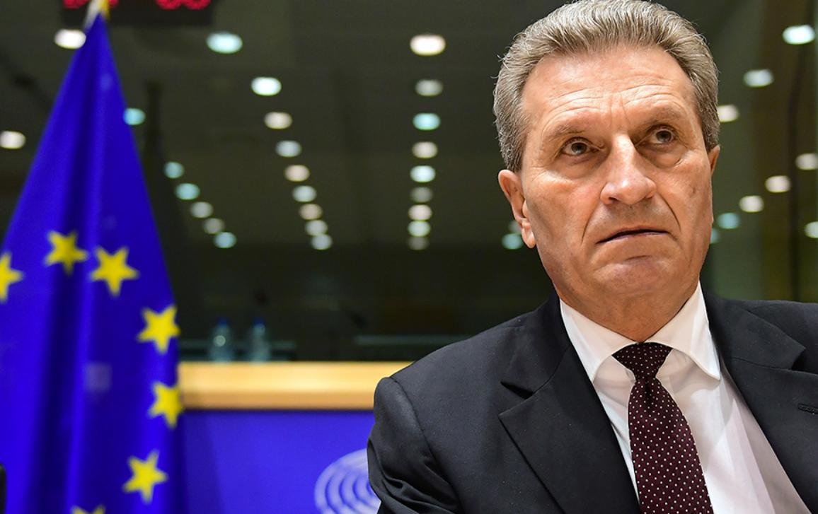 EU Commissioner Oettinger faces MEPs' scrutiny