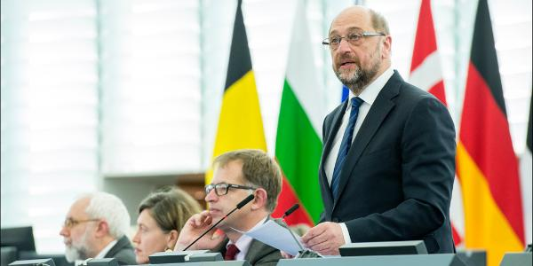 Opening remarks of January plenary session by EP President Martin Schulz