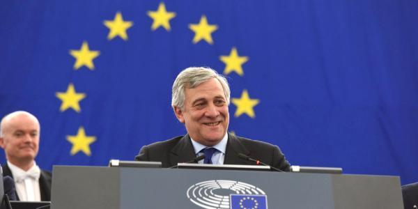 The new President of the European Parliament is Antonio Tajani