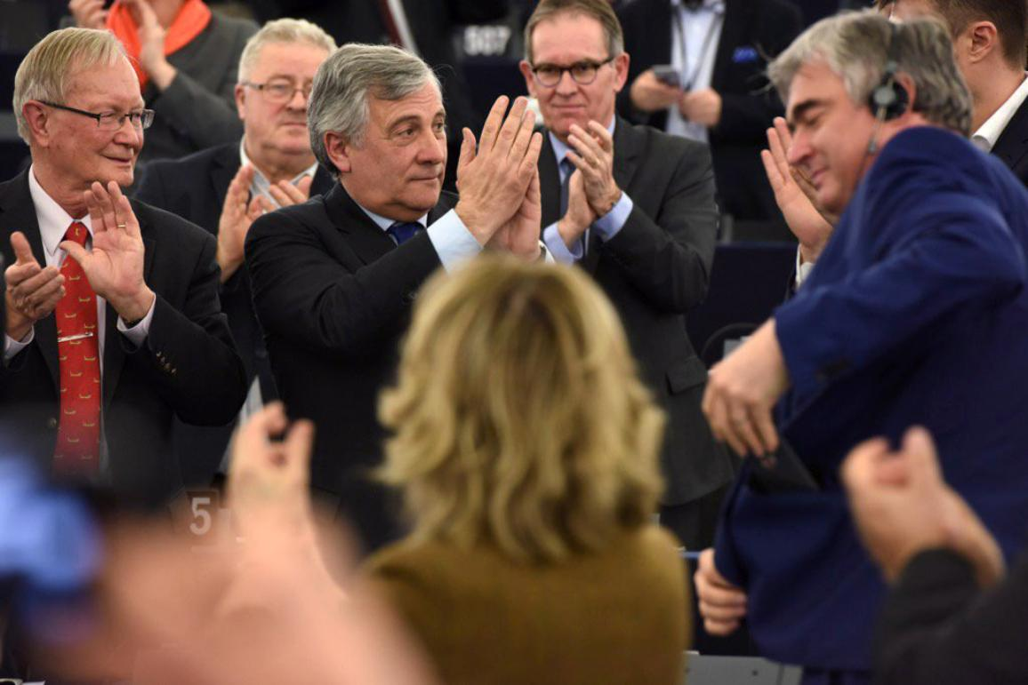The new President of the European Parliament is Antonio Tajani