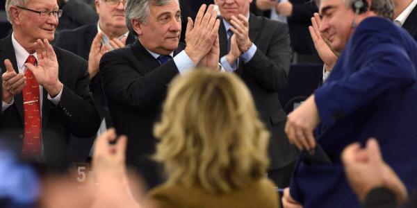 Antonio Tajani przewodniczącym PE