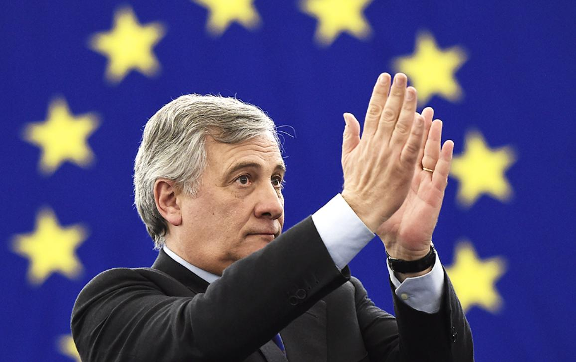 Antonio Tajani elected European Parliament's new president