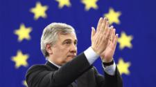Video: Tajani elected EP president