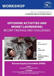 "PANA Workshop on ""Offshore activities and money laundering: recent findings and challenges"""