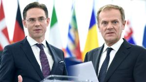European Parliament plenary debates on EU Council outcome and challenges in 2017 with Commissioner Jyrki Katainen and Council President Donald Tusk