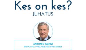 Infograafik. Euroopa Parlamendi juhatus: 1 president, 14 asepresidenti, 5 kvestiorit