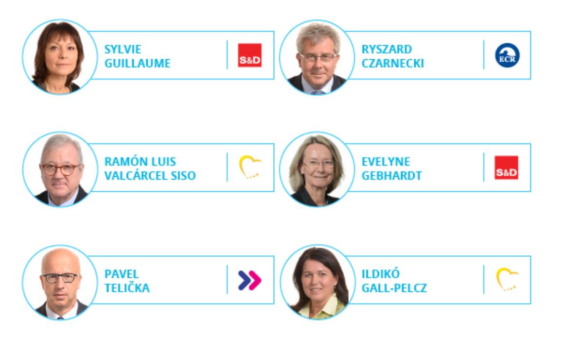 Γράφημα με τον πρόεδρο και τους αντιπροέδρους και τους κοσμήτορες του ΕΚ