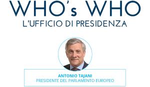 Il nuovo ufficio di presidenza del Parlamento europeo.