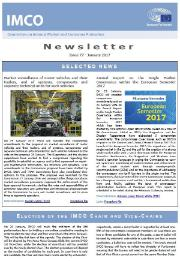 issue 77 of IMCO newsletter