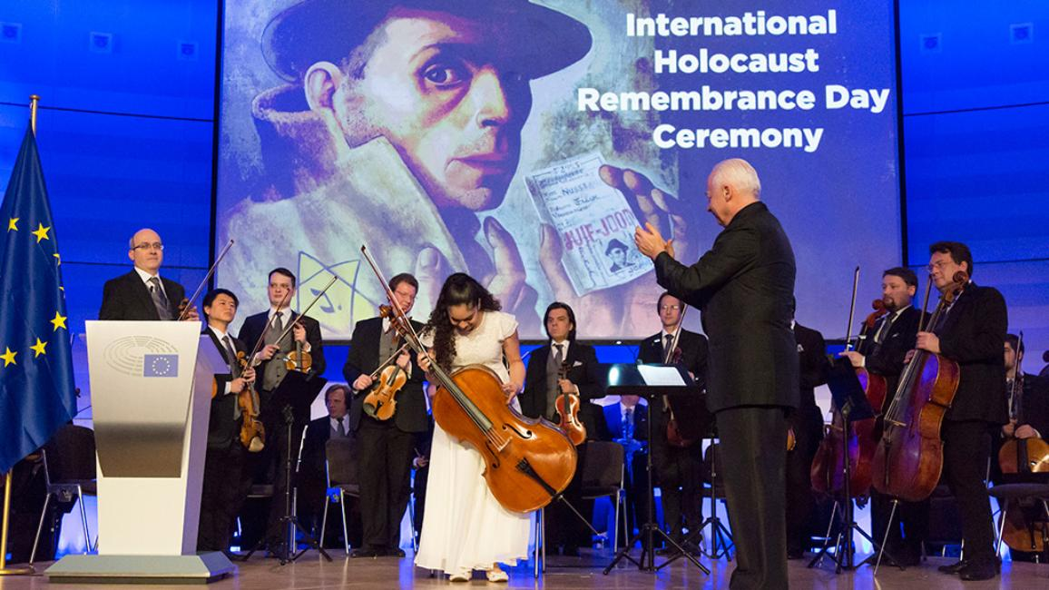 Herdenking van de Holocaust