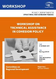 Poster of the Committee on Regional Development workshop on technical assistance in cohesion policy, Policy Department B, Structural and cohesion policies.