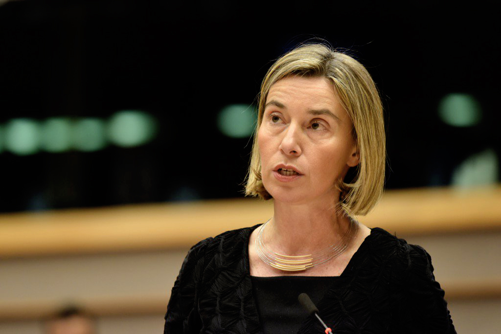 High Representative for Foreign Affairs and Security Policy, Federica Mogherini