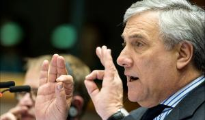 Opening of February Brussels plenary session by EP President Antonio Tajani