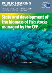Biomass of fish stocks managed by the CFP