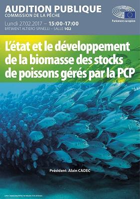 Le développement de la biomasse des stocks de poisons gérés par la PCP