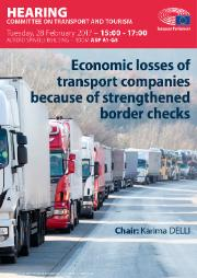 Hearing on the economic losses of transport companies because of strengthened border checks