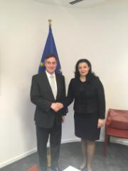 AFET Chair David McAllister with Ukrainian Vice Prime Minister