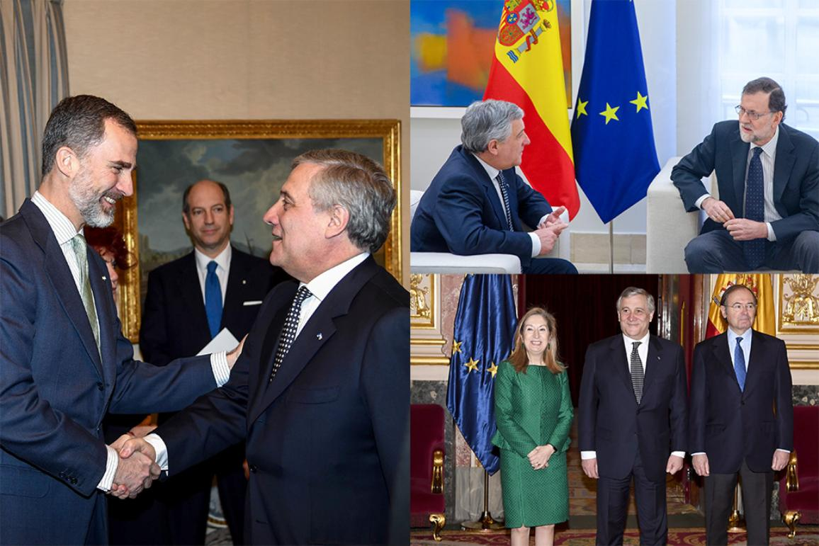 Official visit of President Tajani to Spain