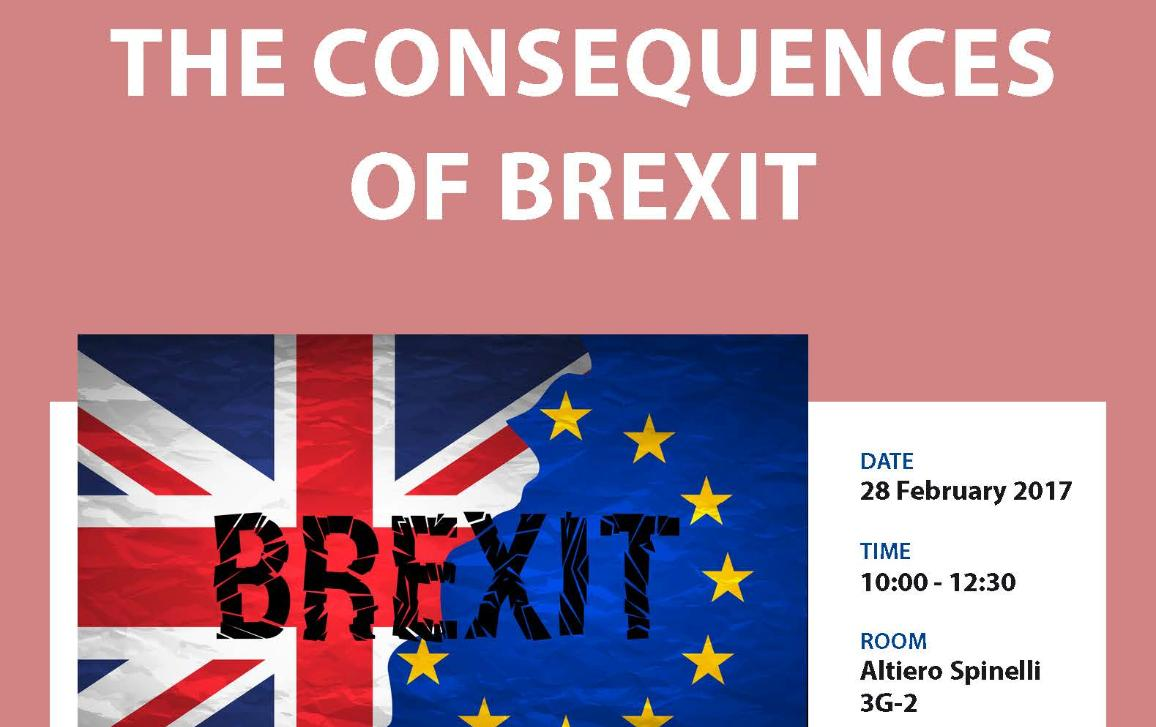 IMCO workshop on consequences of Brexit