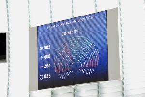 CETA vote result