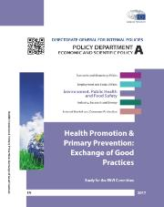 Poster - Health Promotion & Primary Prevention Exchange of Good Practices