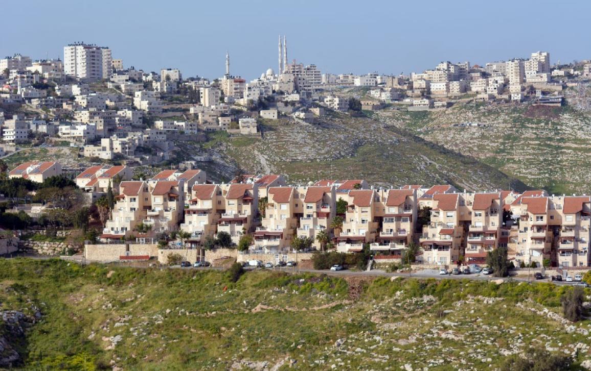 El asentamiento israelí de Maale Adumim ©AP Images/Unión Europea-PE.