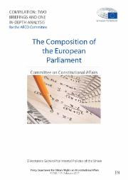 The Composition of the European Parliament - two briefings and one in-depth analysis