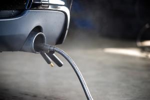 Car exhaust check