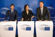 Press point: Ms Van Brempt, EMIS Chair, Mr Gieseke and Mr Gerbrandy, EMIS co-rapporteurs - After vote on EMIS final inquiry report and on a draft European Parliament recommendation for the Commission and the Council arising from the inquiry.