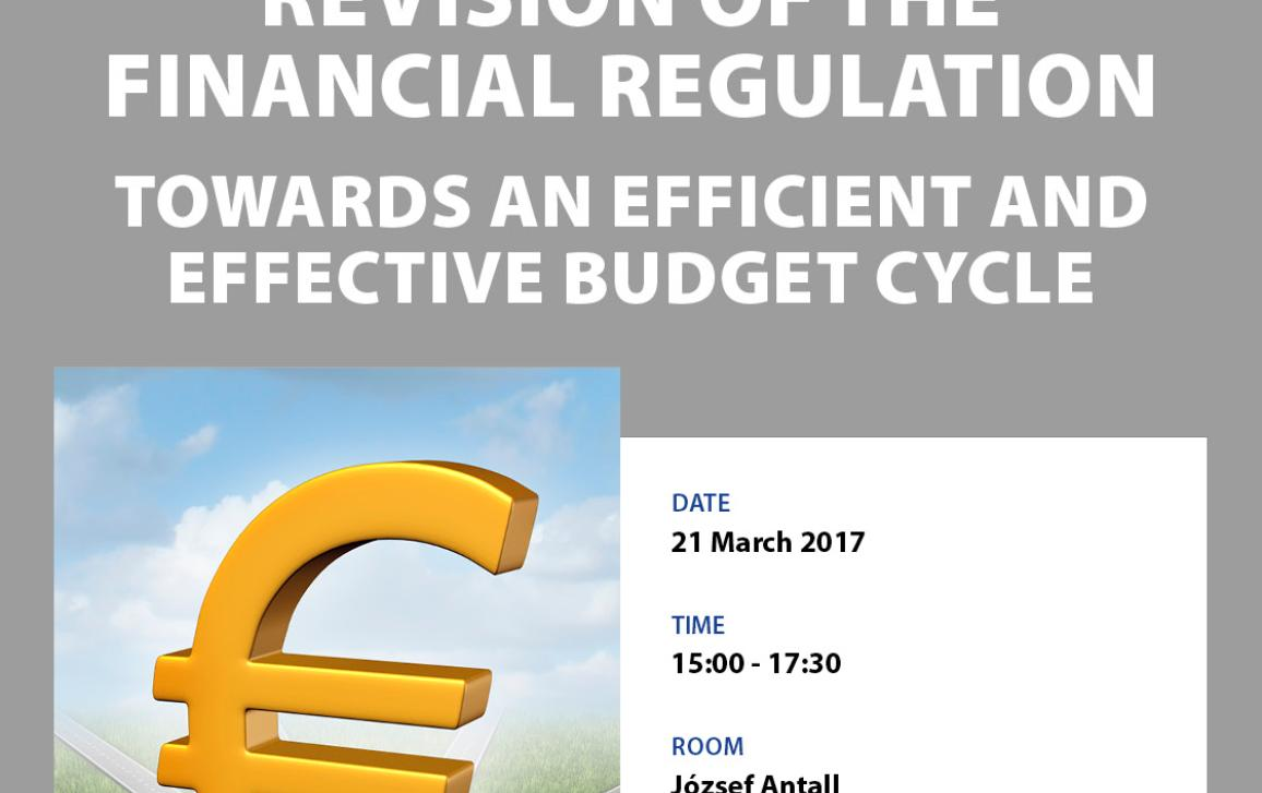 Revision of the Financial Regulation