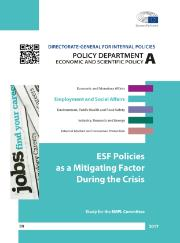 ESF Policies during the crisis