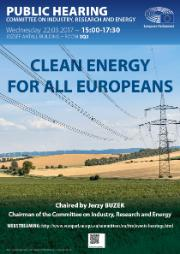 ITRE public hearing-Clean energy for all Europeans
