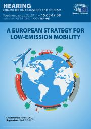 TRAN hearing on a European Strategy for low emission mobility