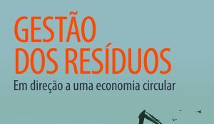 Infografia sobre os resíduos urbanos produzidos por cada país da UE, taxa de reciclagem e de depósitos em aterro.