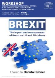 AFCO Poster for Workshop on Brexit