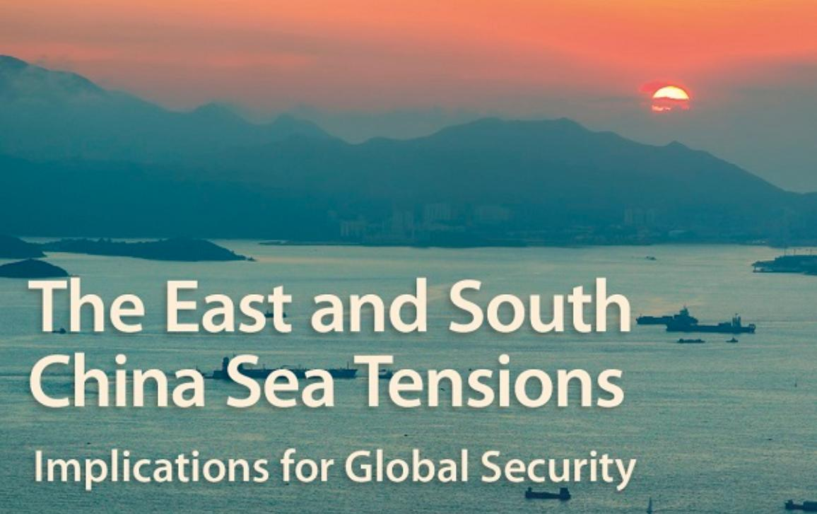 Poster AFET/SEDE Public Hearing The East and South China Sea Tensions - photo of sea with boats