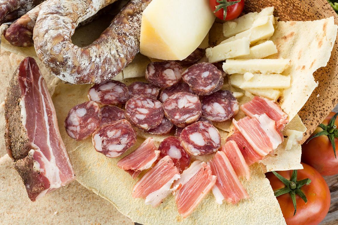 Prodotti tipici della Cucina Sarda