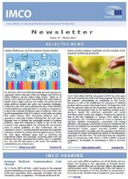 Front page of IMCO newsletter- issue 79