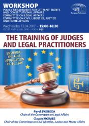 Workshop on judicial training
