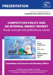 Competition policy and an internal energy market