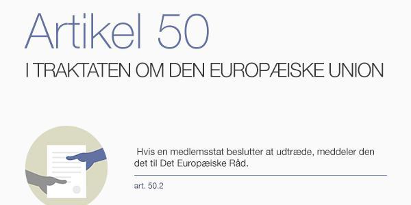 Infografik om Artikel 50