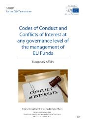 Codes of Conduct and Conflict of Interest at any governance level of the management of EU funds