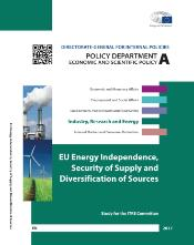Study on EU energy independence, security of supply and diversification of resources