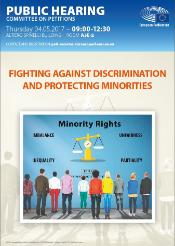 fighting against discrimination and protecting minorities