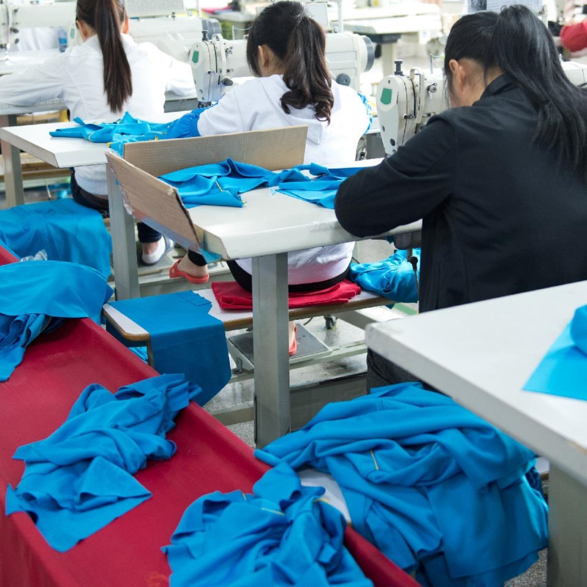 An industrial size textile factory ©AP Images/European Union-EP