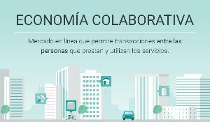 Infografía: creciente peso de la economía colaborativa en la Unión Europea