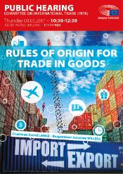 Image of shipping containers and cranes symbolising trade, import and export