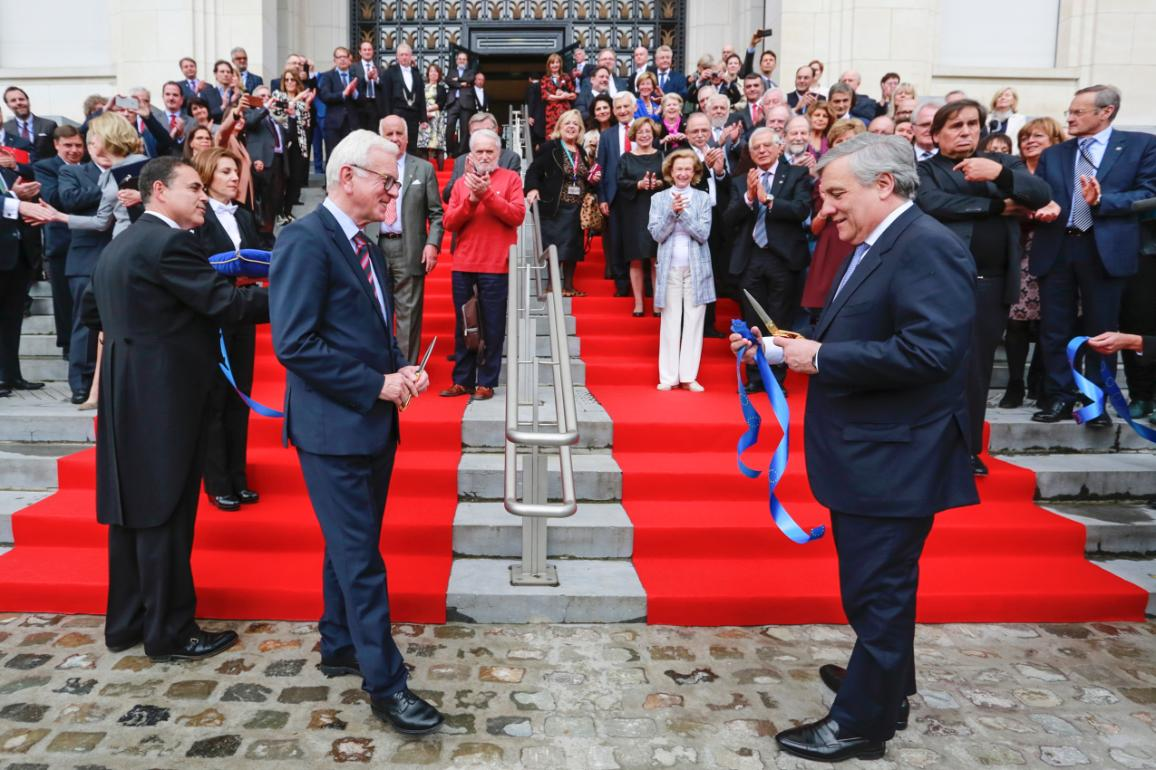 Opening of the House European History  on 4th May