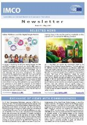 front page IMCO newsletter May 2017