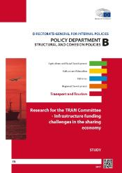 Poster of study on Infrastructure funding Policy department B